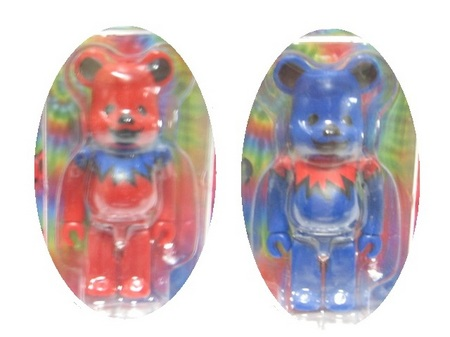 BE@RBRICK GRATEFUL DEAD DANCING BEARS 100% (2).JPG