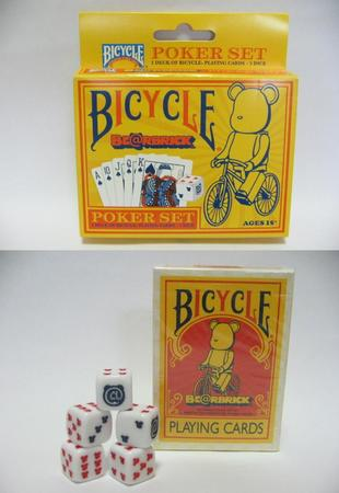 BE@RBRICK BICYCLE PLAYING CARDS POKER SET (1).JPG